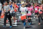 Marathoners compete during the Tokyo Marathon on Sunday, Feb. 26, 2017 in Tokyo, Japan.<br /> Photo by Kevin Clifford