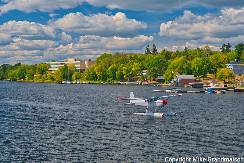 Float plane on Lake of the Woods<br />Kenora<br />Ontario<br />Canada