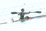 Yuka Ono (JPN), <br /> AUGUST 30, 2018 - Canoe Sprint : <br /> Women's Kayak Single 500m  Final <br /> at Jakabaring Sport Center Lake <br /> during the 2018 Jakarta Palembang Asian Games <br /> in Palembang, Indonesia. <br /> (Photo by Yohei Osada/AFLO SPORT)