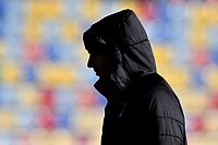The silhouette of Riccardo Montolivo of AC Milan ahead the Serie A 2018/2019 football match between Frosinone and AC Milan at stadio Benito Stirpe, Frosinone, December, 26, 2018 <br />  Foto Andrea Staccioli / Insidefoto