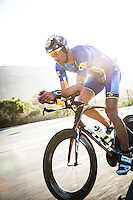 XXX competes during the XXX portion of the Accenture Ironman California 70.3 in Oceanside, CA on March 29, 2014.