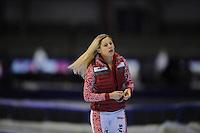 SCHAATSEN: HEERENVEEN: IJsstadion Thialf, 16-11-2012, Essent ISU World Cup, Season 2012-2013, Ladies 3000 meter Division B, Yelena Sokhryakova (RUS), ©foto Martin de Jong
