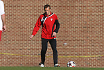 29 November 2009: Indiana assistant coach Aleksey Korol. The University of North Carolina Tar Heels defeated the Indiana University Hoosiers 1-0 at Fetzer Field in Chapel Hill, North Carolina in an NCAA Division I Men's Soccer Tournament Third Round game.