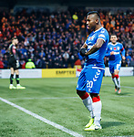 10.11.2019 Livingston v Rangers: Alfredo Morelos celebrates his goal