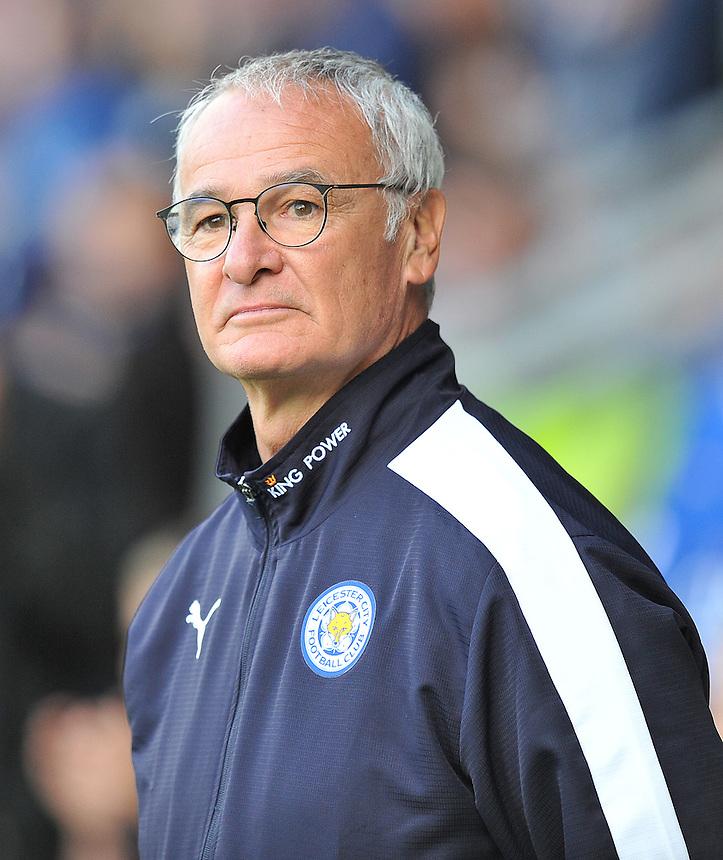 Leicester City's Manager Claudio Ranieri<br /> <br /> Photographer Dave Howarth/CameraSport<br /> <br /> Football - Football Friendly - Burton Albion v Leicester City - Tuesday 28th July 2015 - Pirelli Stadium - Burton upon Trent<br /> <br /> &copy; CameraSport - 43 Linden Ave. Countesthorpe. Leicester. England. LE8 5PG - Tel: +44 (0) 116 277 4147 - admin@camerasport.com - www.camerasport.com