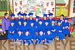 Kids from Bellview Woods Childcare, Fossa, Killarney who graduated from Montessori on Thursday front row l-r: Aoife O'Keeffe, Laura Aherne, Sean Cox, Alex Courtney-Sheahan. Middle row: Dominic Krystokik, Sarah coffey, Leah Sheehan, Ronan Bennett, Mark Tali, Jamie Vousden, Anne and Lily O'Shaugnessy. Back row: Mairead Breen, Nicole Mileusnic, Julian McLennon, Colm Janot, Luke Doolan, Paulina Sirotiakava, Emily Szaflik, Mellissa McCarthy, Wicktor Pyrborski and Rosemarie Doolan..