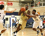 Boys Varsity Basketball action between Baton Rouge Episcopal and St. Martin's Episcopal in the Adkerson Gymnasium on November 23, 2009.
