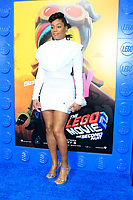 "LOS ANGELES - FEB 2:  Tiffany Haddish at ""The Lego Movie 2: The Second Part"" Premiere at the Village Theater on February 2, 2019 in Westwood, CA"