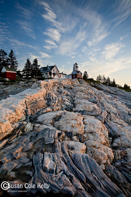 Pemaquid Point Lighthouse, Bristol, Mid-coast ME, USA