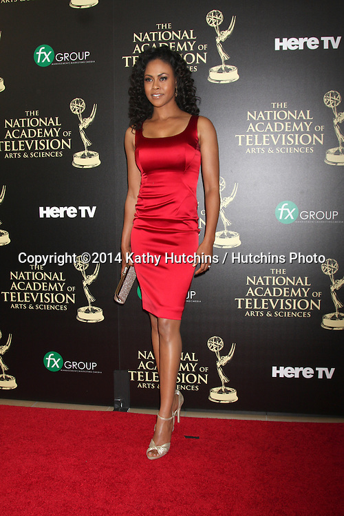 LOS ANGELES - JUN 22:  Vinessa Antoine at the 2014 Daytime Emmy Awards Arrivals at the Beverly Hilton Hotel on June 22, 2014 in Beverly Hills, CA