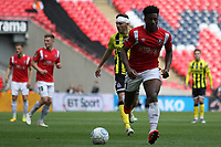 Devante Rodney (Salford City) during the Vanarama National League Playoff Final between AFC Fylde & Salford City at Wembley Stadium, London, England on 11 May 2019. Photo by James  Gil.