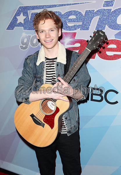"""29 August 2017 - Hollywood, California - Chase Goehring. NBC """"America's Got Talent"""" Season 12 Live Show held at the Dolby Theatre. Photo Credit: F. Sadou/AdMedia"""