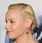 Abbie Cornish arriving at the premiere of RoboCop which was held at TCL Chinese Theatre on February 10, 2014.