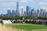 Louis Oosthuizen (RSA) in action during the final round of the Northern Trust played at Liberty National Golf Club, Jersey City, USA. 11/08/2019<br /> Picture: Golffile | Phil INGLIS<br /> <br /> All photo usage must carry mandatory copyright credit (© Golffile | Phil INGLIS)