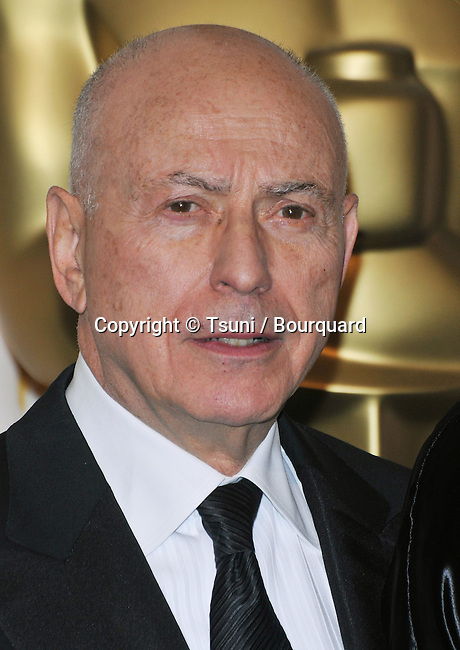 Alan Arkin<br /> 80th Oscars ceremony, press room at the Kodak Theatre In Los Angeles.<br /> <br /> headshot<br /> eye contact