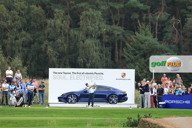 Romain Wattel (FRA) during the final round of the Porsche European Open , Green Eagle Golf Club, Hamburg, Germany. 08/09/2019<br /> Picture: Golffile | Phil Inglis<br /> <br /> <br /> All photo usage must carry mandatory copyright credit (© Golffile | Phil Inglis)
