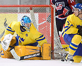 Magnus Akerlund (HV 71 - Carolina Hurricanes), Tobias Viklund (MODO Hockey) The US Blue team lost to Sweden 3-2 in a shootout as part of the 2005 Summer Hockey Challenge at the National Junior (U-20) Evaluation Camp in the 1980 rink at Lake Placid, NY on Saturday, August 13, 2005.