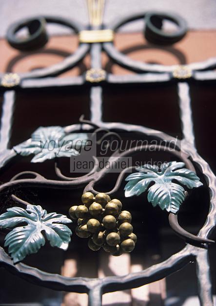 Europe/France/Alsace/68/Haut-Rhin/Riquewihr : Maison de vigneron