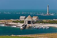 Europe/France/Normandie/Basse-Normandie/50/Manche/Presqu'île de la Hague/Goury: le port  et le phare du Cap de la Hague
