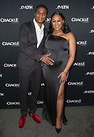 07 March 2018 - Culver City, California - Cory Hardrict and Tia Mowry. &quot;The Oath&quot; TV Series Los Angeles Premiere held at Sony Pictures Studios.   <br /> CAP/ADM/FS<br /> &copy;FS/ADM/Capital Pictures