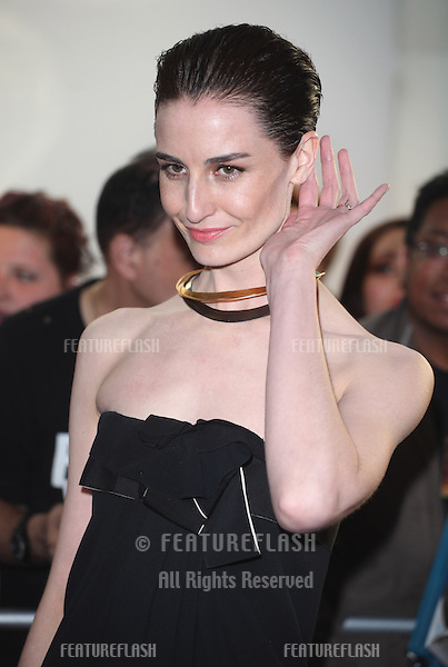 Erin O'Connor arriving for the 013 Glamour Awards, Berkeley Square, London. 04/06/2013 Picture by: Alexandra Glen / Featureflash