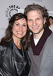 Stephanie J. Block and Sebastian Arcelus attends the 'Elaine Stritch: Shoot Me' screening at The Paley Center For Media on February 19, 2014 in New York City.