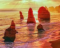 The Twelve Apostles, Port Campbell National Park, Victoria, Australia, Great Ocean Road, Great Australian Bight, limestone sea stacks
