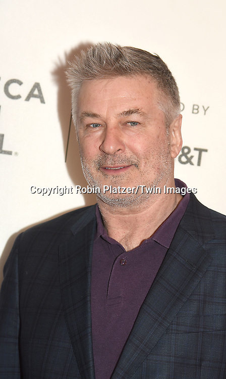 "Alec Baldwin attends ""The Seagull"" Screening at the Tribecca Film Festival at BMCC on April 21, 2018 in New York City, New York, USA.<br /> <br /> photo by Robin Platzer/Twin Images<br />  <br /> phone number 212-935-0770"