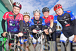 Sliabh Luachra Cycling club members who took part in the Currow cycle were l-r: Maurice Cronin, Hannah O'Connor , Denis Clogan, Hugh Cronin and Michael Casey.