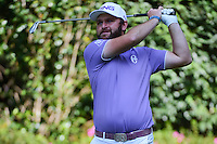 Andy Sullivan (ENG) watches his tee shot on 3 during round 1 of the World Golf Championships, Mexico, Club De Golf Chapultepec, Mexico City, Mexico. 3/2/2017.<br /> Picture: Golffile | Ken Murray<br /> <br /> <br /> All photo usage must carry mandatory copyright credit (&copy; Golffile | Ken Murray)