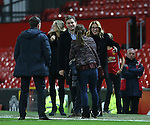 Coleen Rooney with film star Julia Roberts during the Premier League match at the Old Trafford Stadium, Manchester. Picture date: November 27th, 2016. Pic Simon Bellis/Sportimage