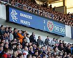 Rangers defeat league leaders Hearts