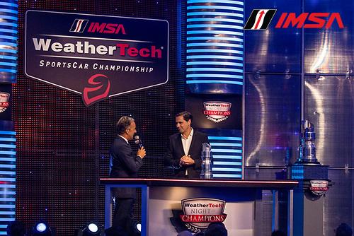 Klaus Zellmer, Porsche, IMSA WeatherTech Awards Banquet, Chateau Elan, Braselton, GA, October 2019.