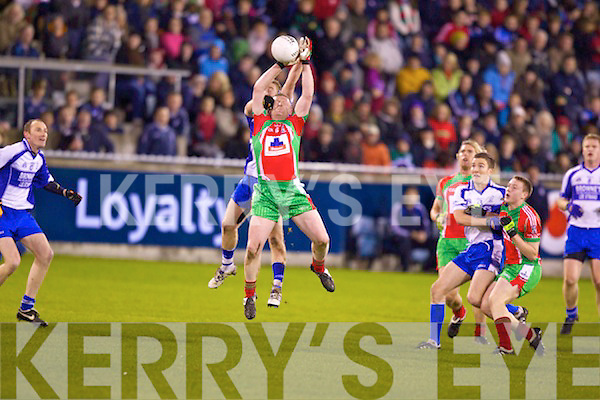 Castleisland Desmonds v Ballymun Kickhams at the Celebrity Bainisteoir final at Parnell park on Friday night.