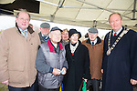 John Griffin, Tim O'Shea, Paddy Scanlon, Marion Conboy, Judith Scanlon Frank O'Reilly  Mayor Jim Finucane at the Official Opening  of the Seán Crispie Park, Castlemaine Road, Traleeon Monday