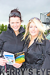 Ruth Magnier and Anita Baggott Killarney at the Killarney Races on Monday