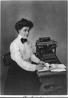 Miss Remington by Remington Typewriter Company 1908