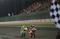 Monlau Team 2012 during the Doha GP in Losail circuit