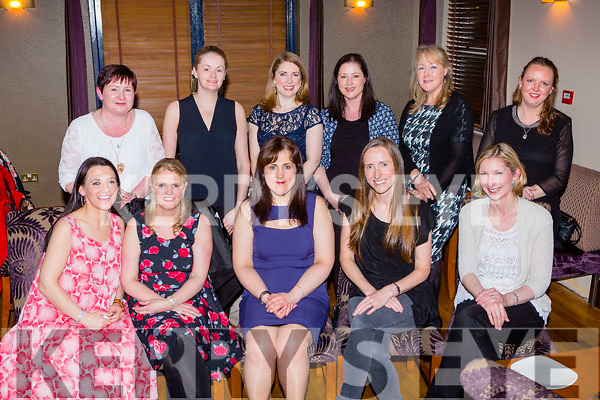 Michelle O'Donoghue, Killarney who celebrated her 40th birthday with her family and friends in the Dromhall Hotel on Saturday night front row l-r: Norma Beechinor, Claire Kineavy, Niamh Hegarty, Jane Armitage, Back row: Sinead Hickey, Michelle Lyons, Regina Dooley, Maria O'Donoghue, Alice Carroll and kuriel Horkan