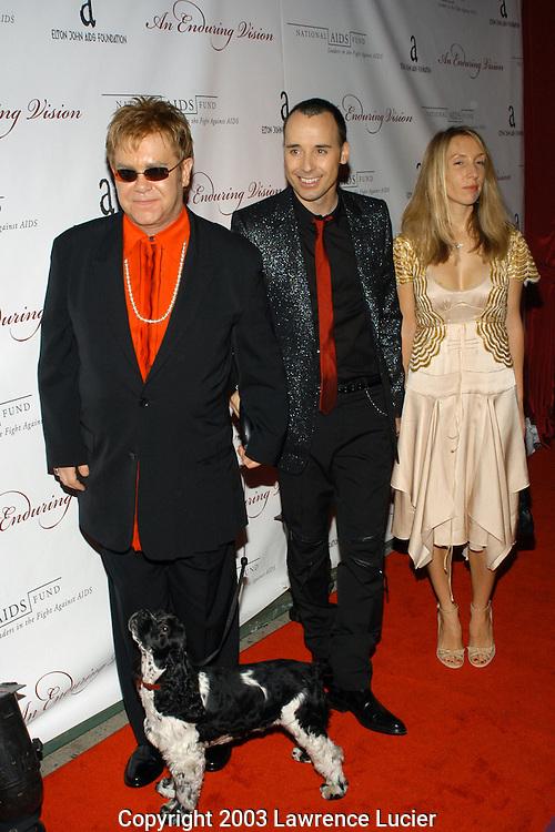 Elton John and David Furness