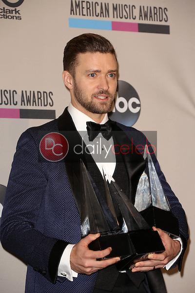 Justin Timberlake<br /> at The 2013 American Music Awards - Press Room , Nokia Theater, Los Angeles, CA 11-24-13<br /> David Edwards/Dailyceleb.com 818-249-4998