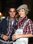 Johnny Smith and Leanne Devine at the Hooley on the Hill barn Dance on the Hill of Rath. Photo:Colin Bell/pressphotos.ie