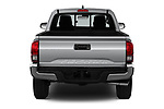 Straight rear view of a 2018 Toyota Tacoma SR5 Access Cab 4 Door Pick Up stock images