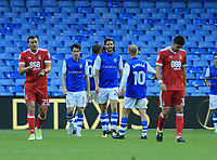 Kieran Lee of Sheffield Wednesday celebrates scoring during the Sky Bet Championship match between Sheffield Wednesday and Nottingham Forest at Hillsborough, Sheffield, England on 9 September 2017. Photo by Leila Coker / PRiME Media Images.