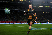 Damian McKenzie of the Chiefs during the Super Rugby Match between the Blues and the Chiefs at Eden Park in Auckland, New Zealand on Friday, 26 May 2017. Photo: Simon Watts / www.lintottphoto.co.nz