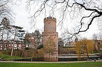 Nederland Nijmegen 2016 02 25. Kruittoren in het Kronenburgerpark. Foto Berlinda van Dam / Hollandse Hoogte