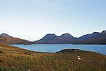 Loch Lurgain sur la péninsule de Coigach