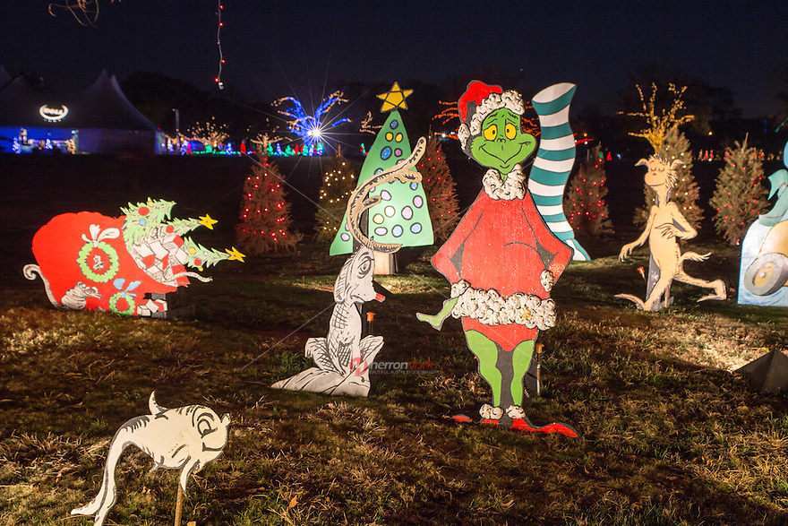 The Trail of Lights is an iconic celebration of authentic children's storybook Christmas characters and displays