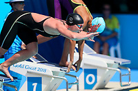 Picture by Alex Whitehead/SWpix.com - 05/04/2018 - Commonwealth Games - Swimming - Optus Aquatics Centre, Gold Coast, Australia - Helena Gasson of New Zealand competes in the Women's 100m Butterfly heats.