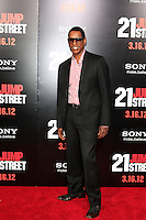 LOS ANGELES, CA - MAR 13: Orlando Jones at the premiere of Columbia Pictures '21 Jump Street' held at Grauman's Chinese Theater on March 13, 2012 in Los Angeles, California